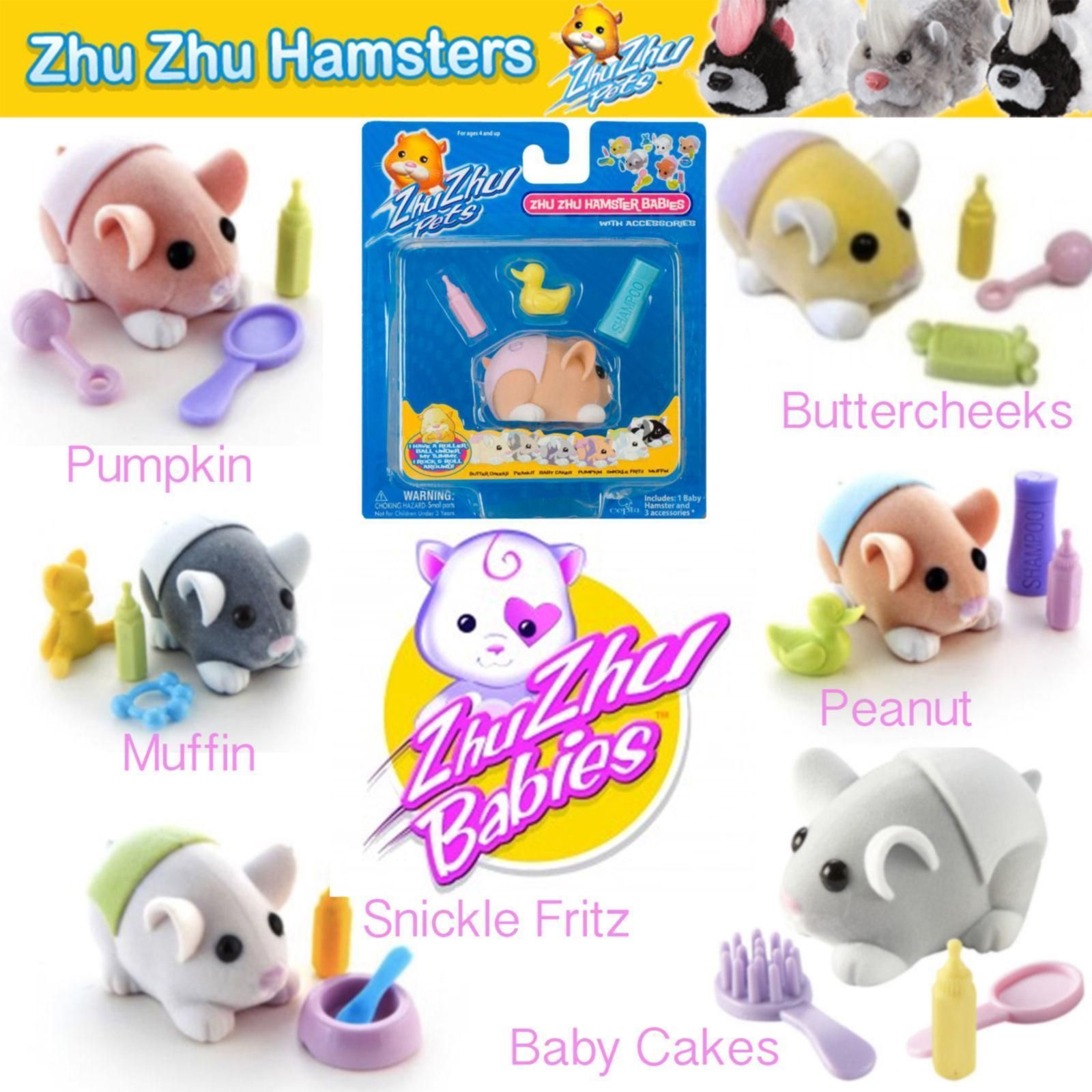 Zhu Zhu Pets Stuffed Animal Plush Toy Play Accessories Ebay