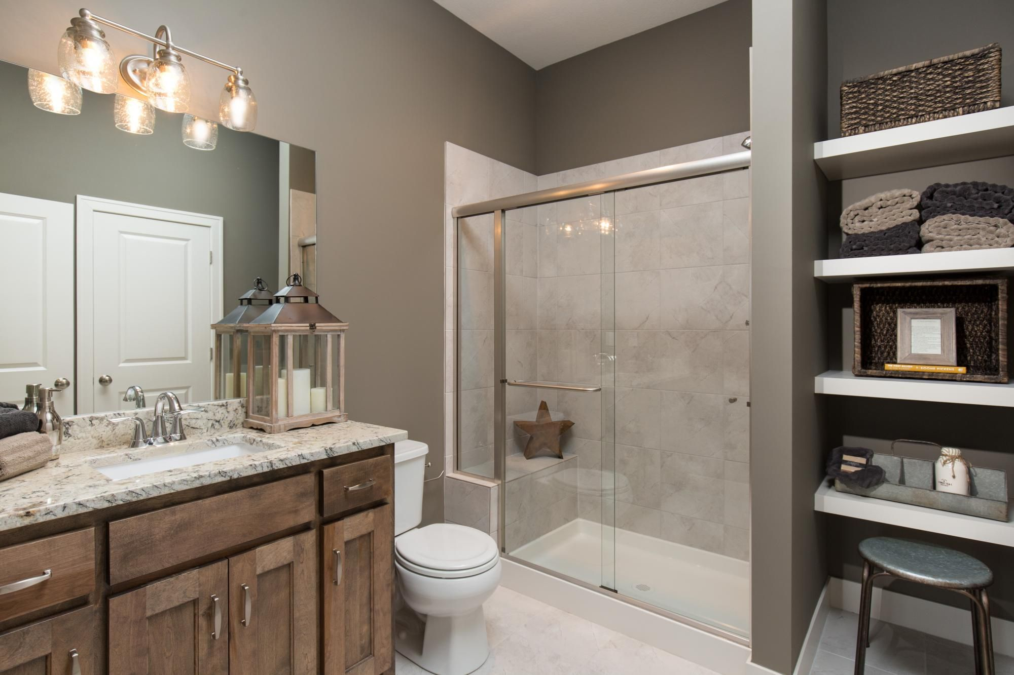Bathrooms Photo Gallery Custom Homes In Kansas City KS Starr - Bathroom vanities overland park ks