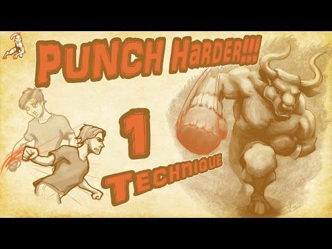 KNOCKOUT PUNCH!! 1 technique for punching power - YouTube