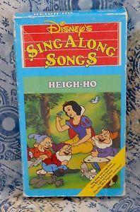 Disney Sing Along Songs Heigh Ho 1987 Sing Along Songs Songs Singing