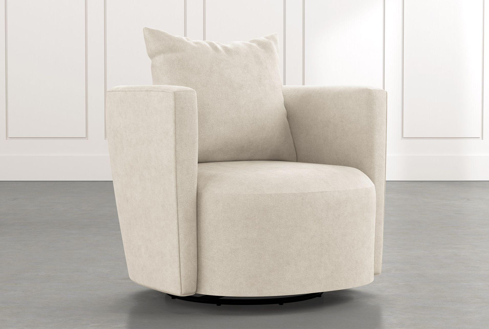 Twirl Beige Swivel Accent Chair In 2020 Swivel Accent Chair