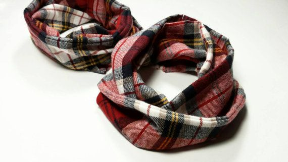Plaid flannel infinity scarves    https://www.etsy.com/listing/257338395/baby-infinity-scarf-infinity-scarf-baby