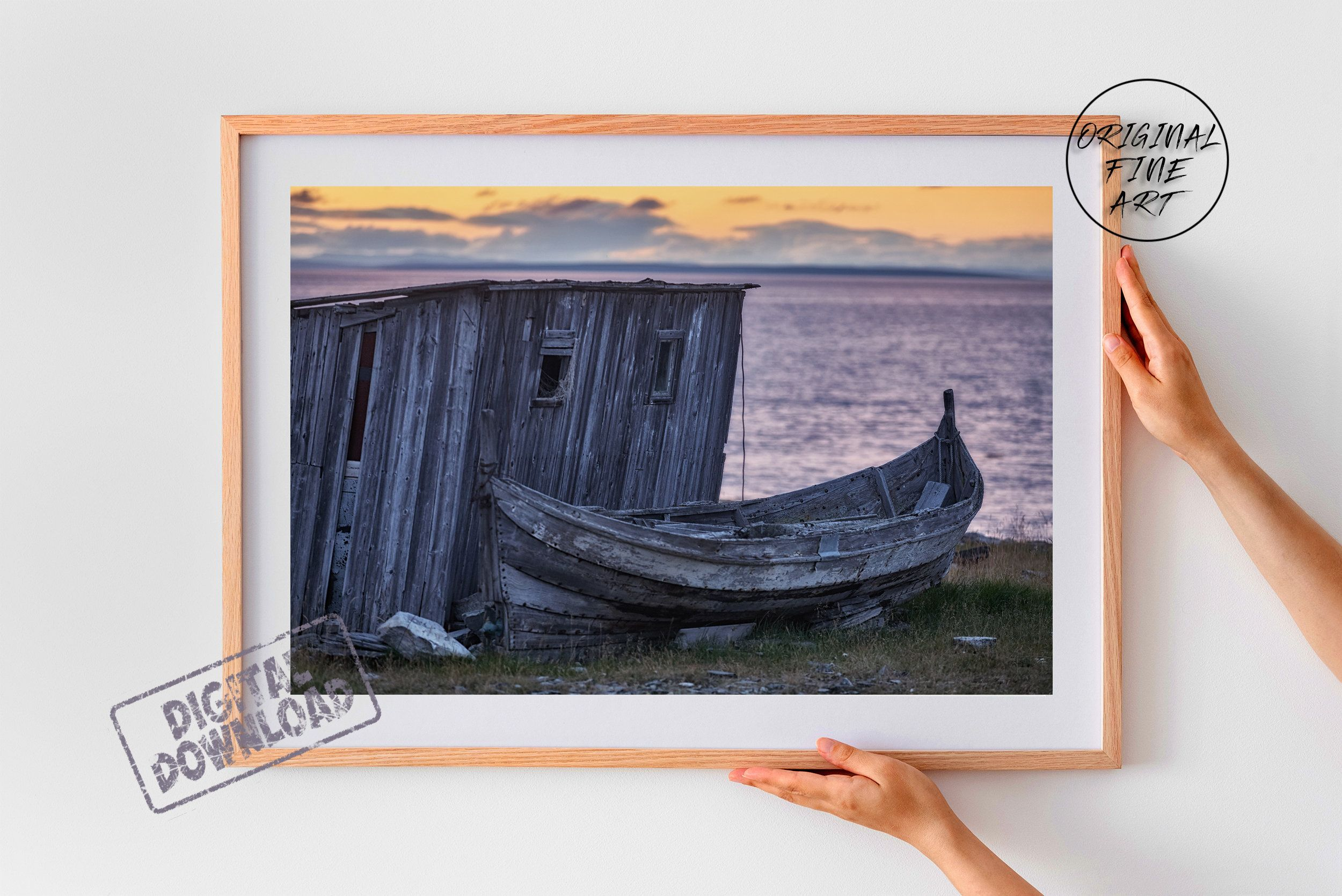 Arctic Maritime Themed Photo Norway Wall Decor Scandi Style Art Ocean Water Print Gift For Dad Gift For Him Boy Friend Gift Bbf Gift Photography Wall Art Photo Wall Art Water Printing