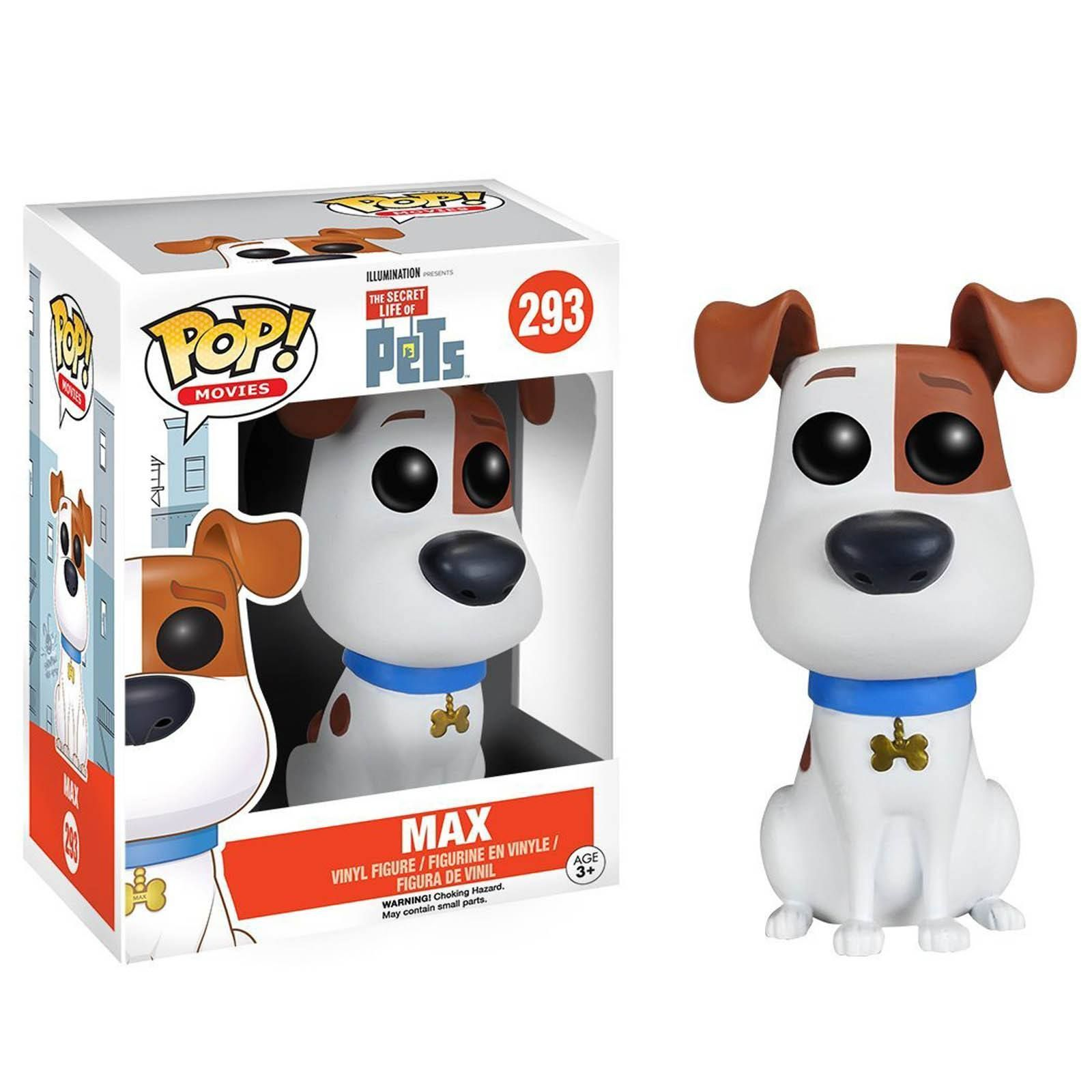 Funko Secret Life Of Pets Pop Max Vinyl Figure Radar Toys Pet