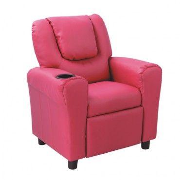 Kids Recliner - Fairy Floss Pink - Milan Direct   For the girls ...