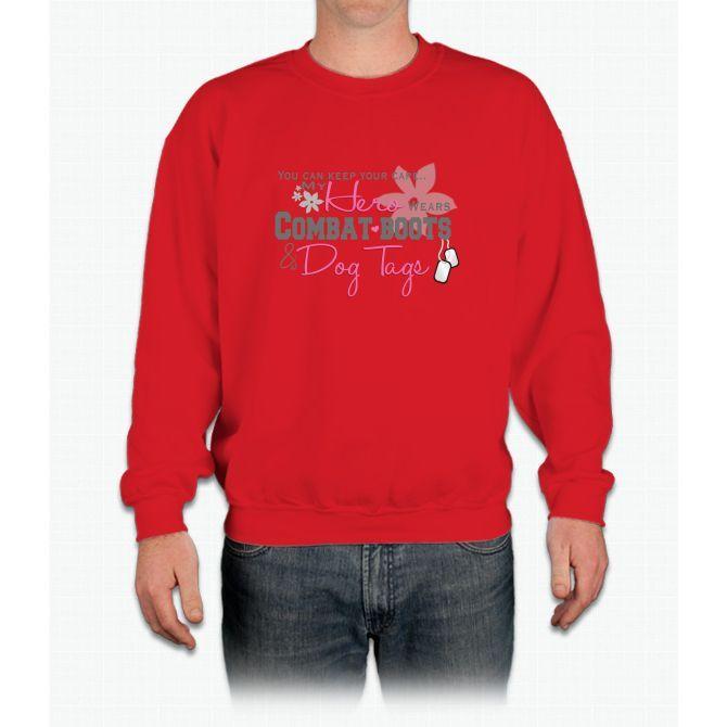T Crewneck Sweatshirt