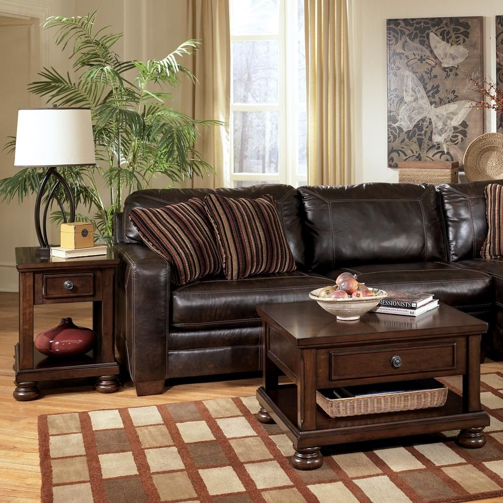 marlo furniture living room style with dark brown leather sofa and rh pinterest ca