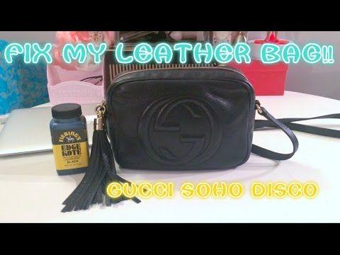 e763a23c79b085 HOW TO FIX A LEATHER BAG STRAP!! Gucci Soho Disco - YouTube ...