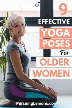 Yoga for Older Women: 9 Effective Asanas