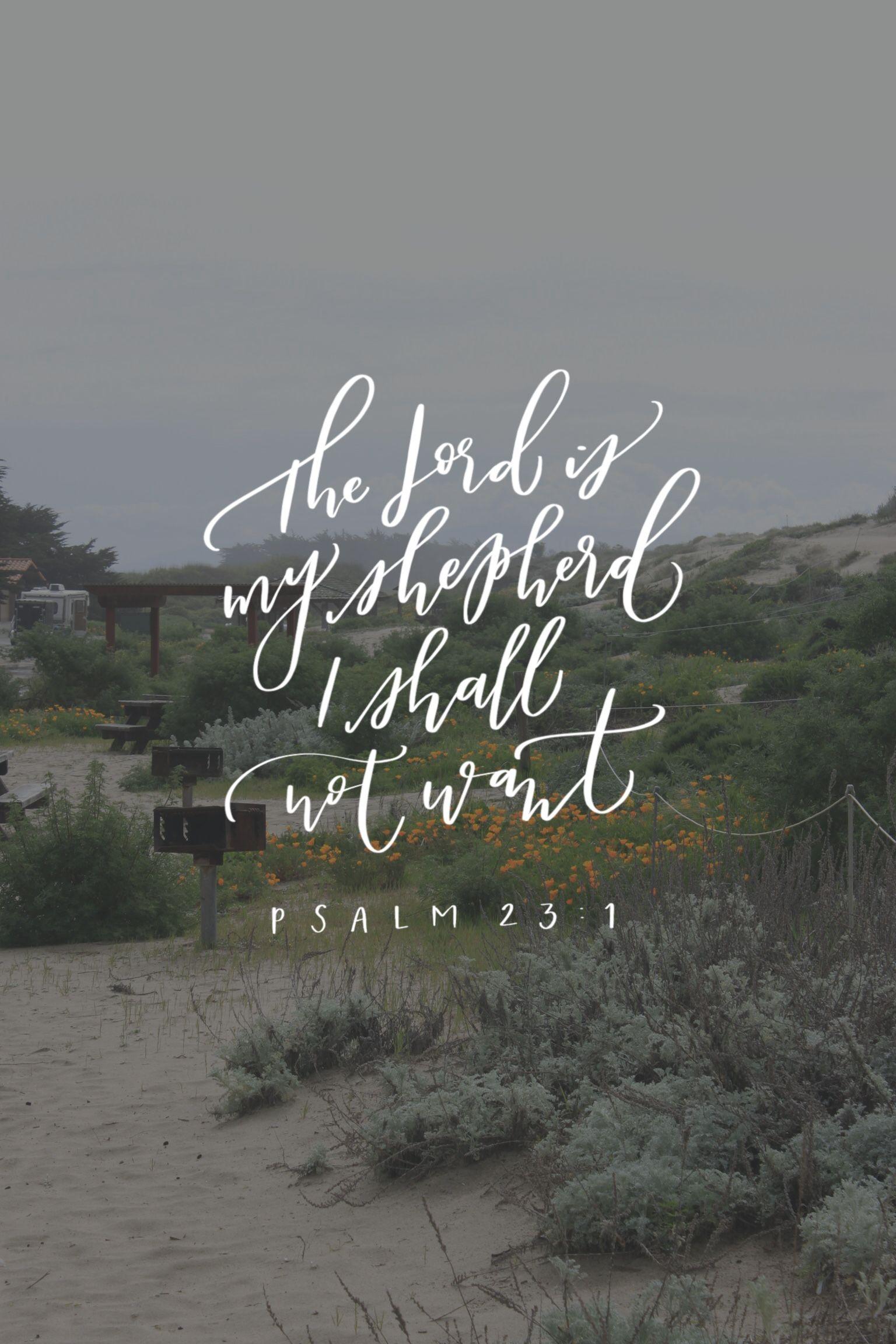 7713b9a0e1e0b0 Psalm 23 1