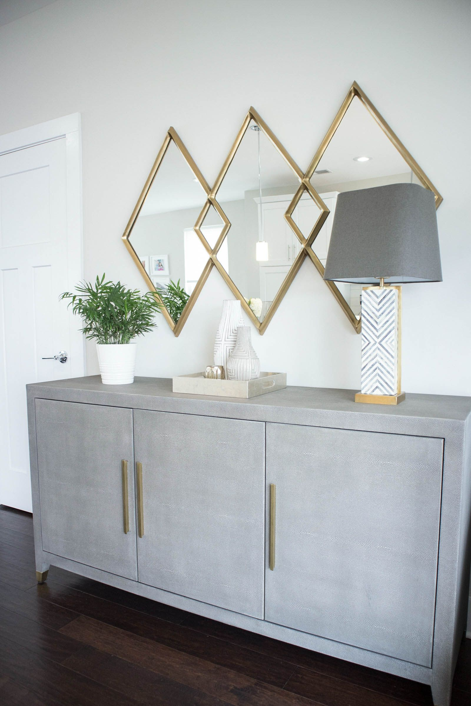 restoration hardware shagreen sideboard, modern kitchen | Home Decor ...