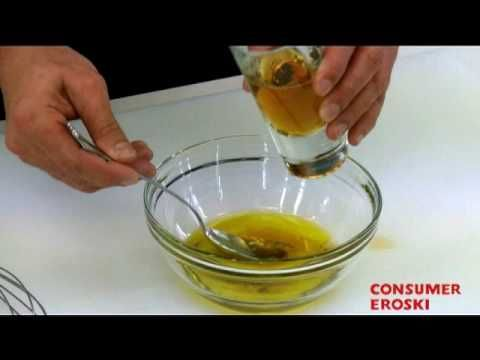 Técnicas básicas de cocina: Cómo hacer vinagreta