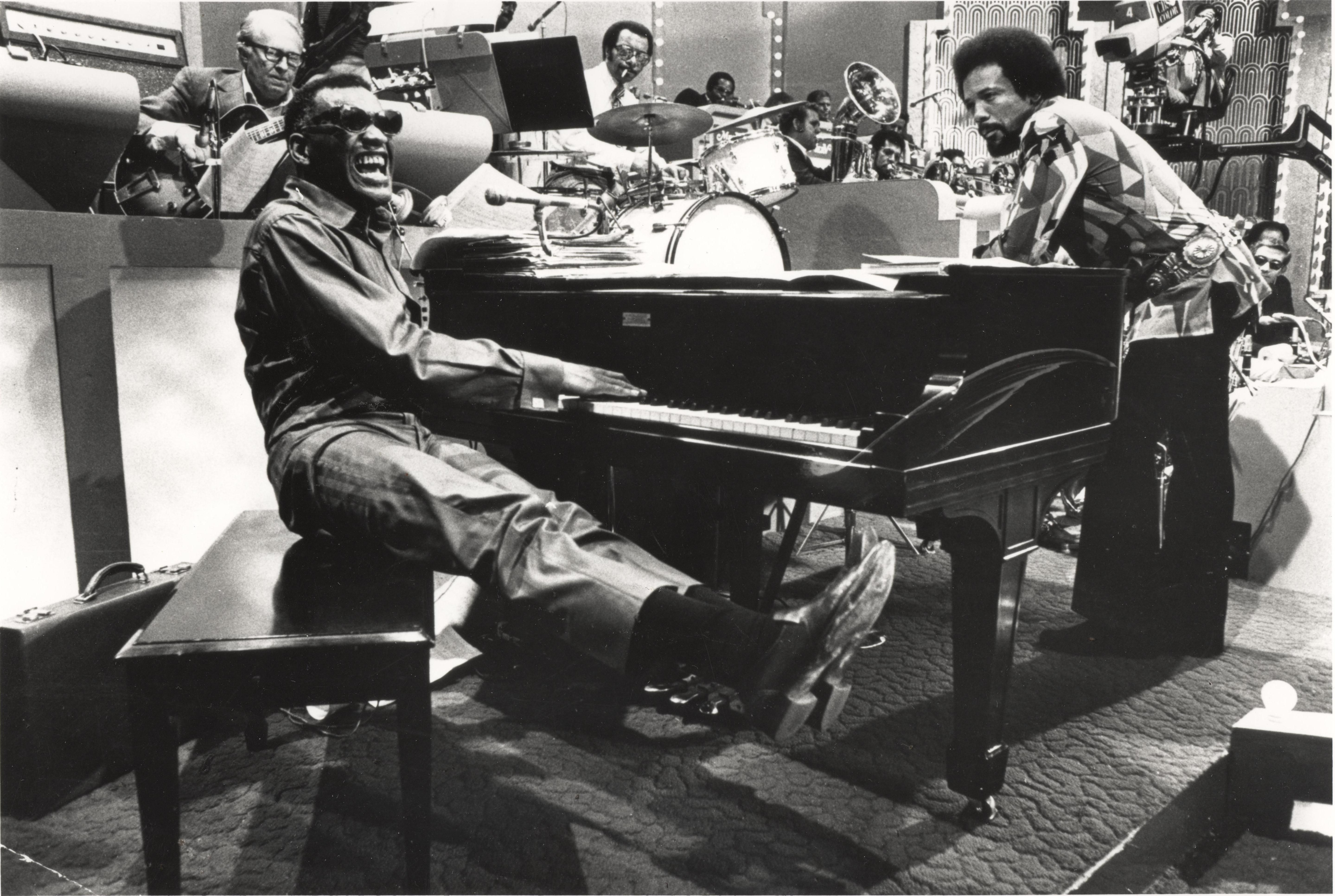 ray charles and quincy jones relationship