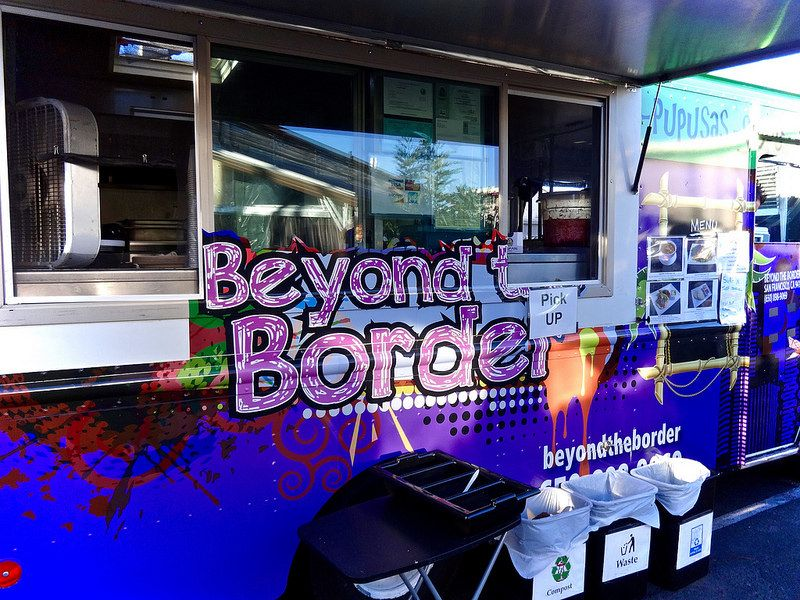 Beyond the border food truck in san francisco food park