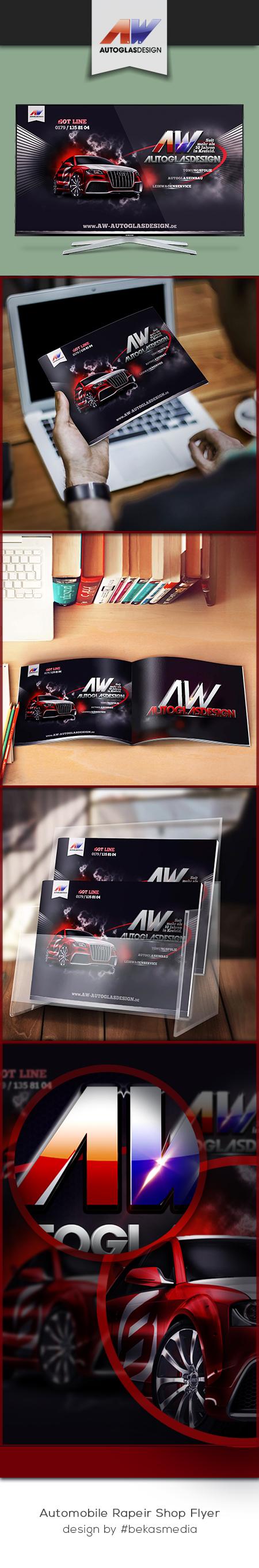 Modern #Automobile #RepairShop #Flyer. Designed by #bekasmedia ...