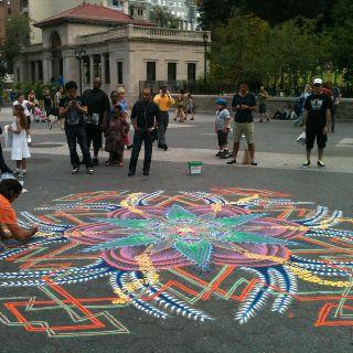 Chalk art n Union Square,NYC. Rent-Direct.com - Apartments ...