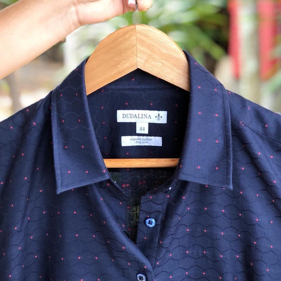 Camisa M-A-R-A-V-I-L-H-O-S-A da Dudalina Feminina 😍😍😍 a coleção está  linda meninas! 8db4056c6122c