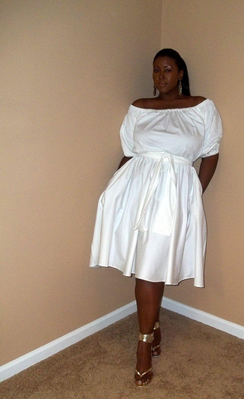 JIBRI Off Shoulder Samantha Dress. $180.00, via Etsy.