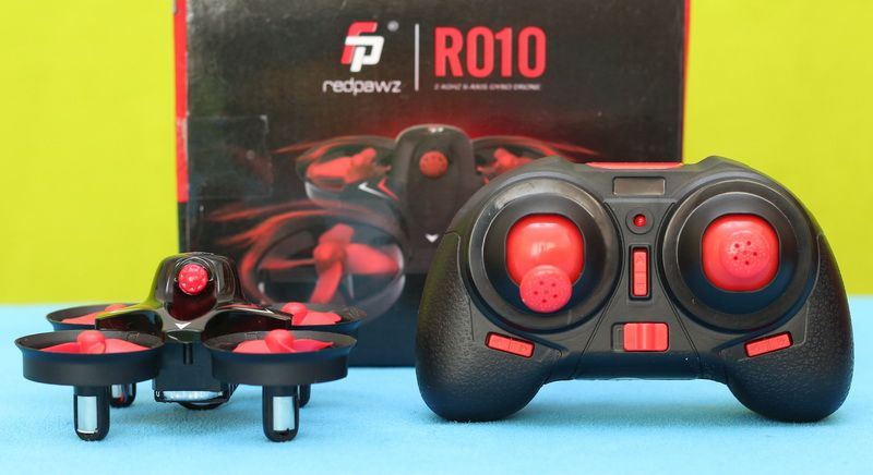 Redpawz R010 quadcopter review  New cheap drone with ducted