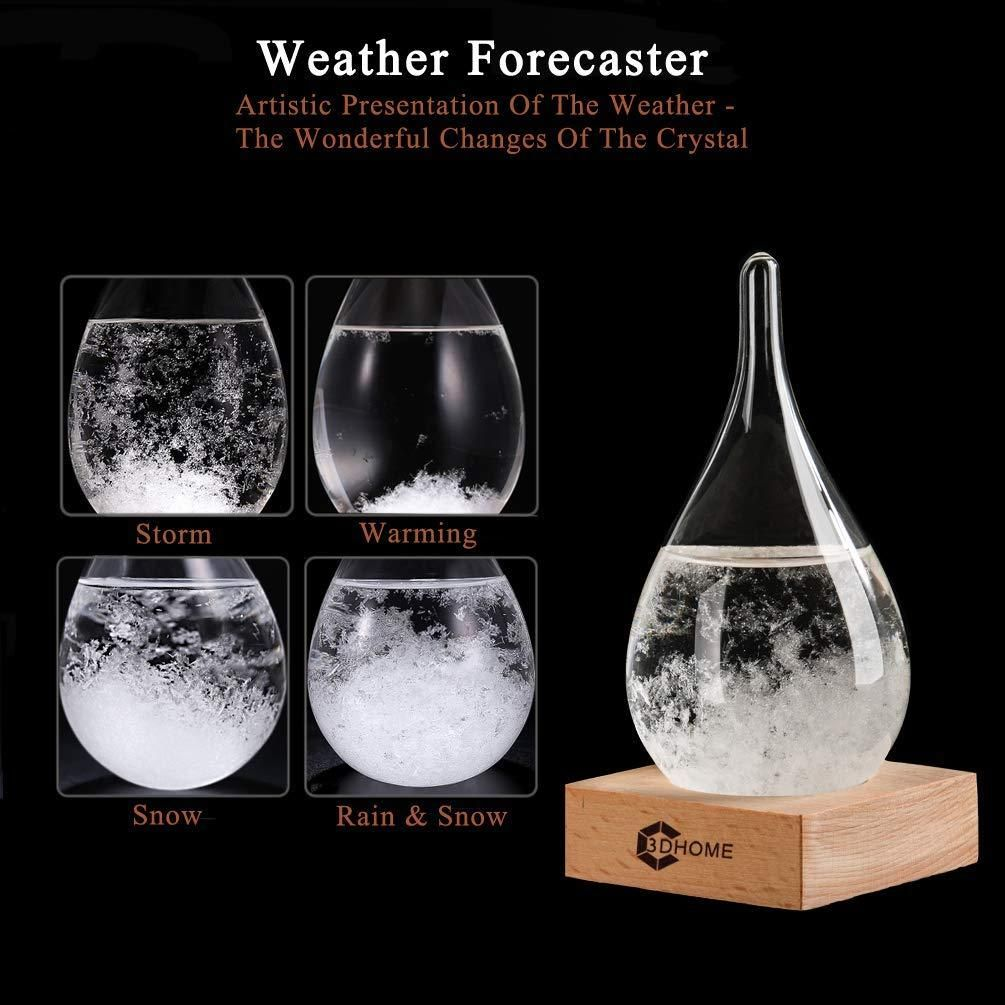 Storm Glass Weather Stations Water Drop Weather Predictor Creative