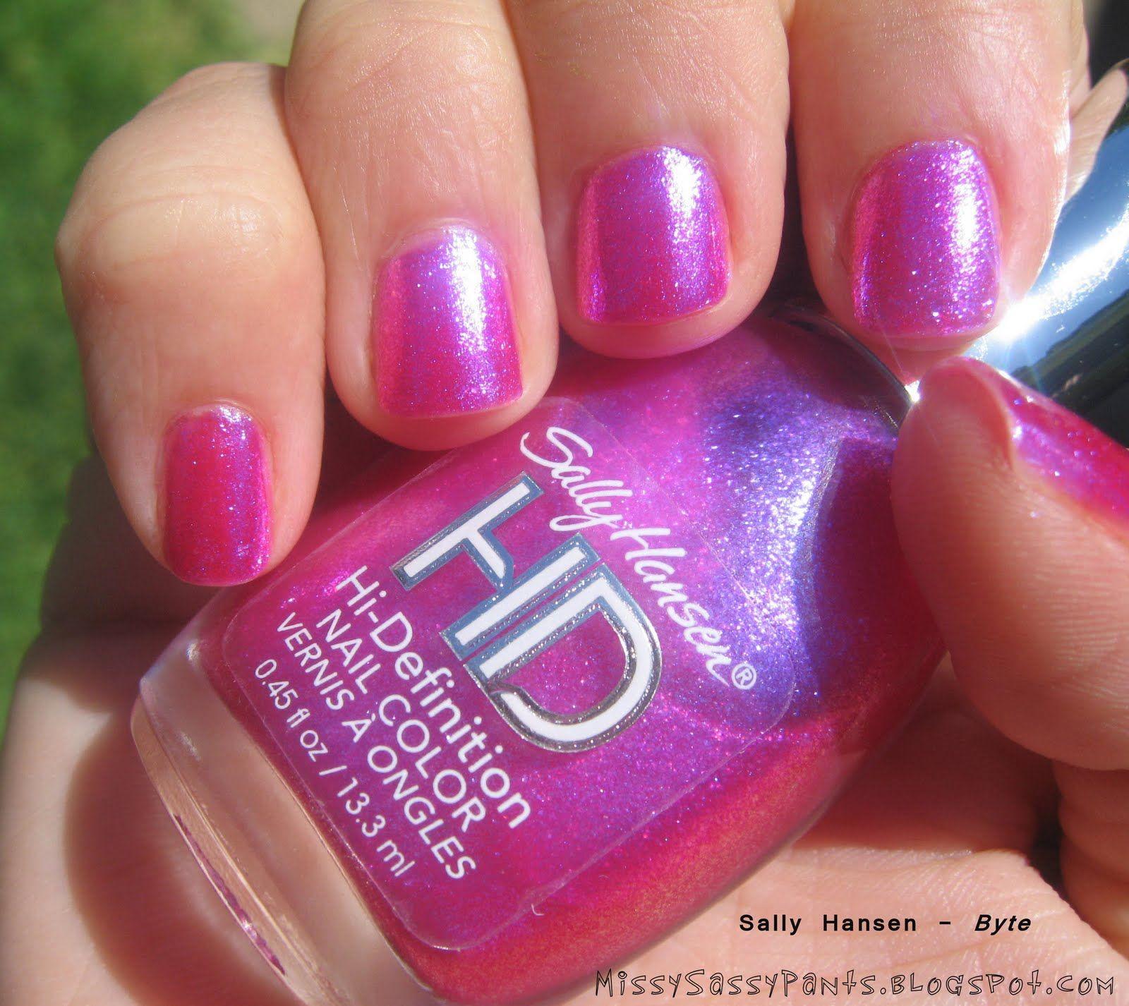Sally Hansen HD nail polish in \