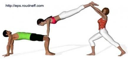 super yoga challenge trio 18 ideas yoga with images