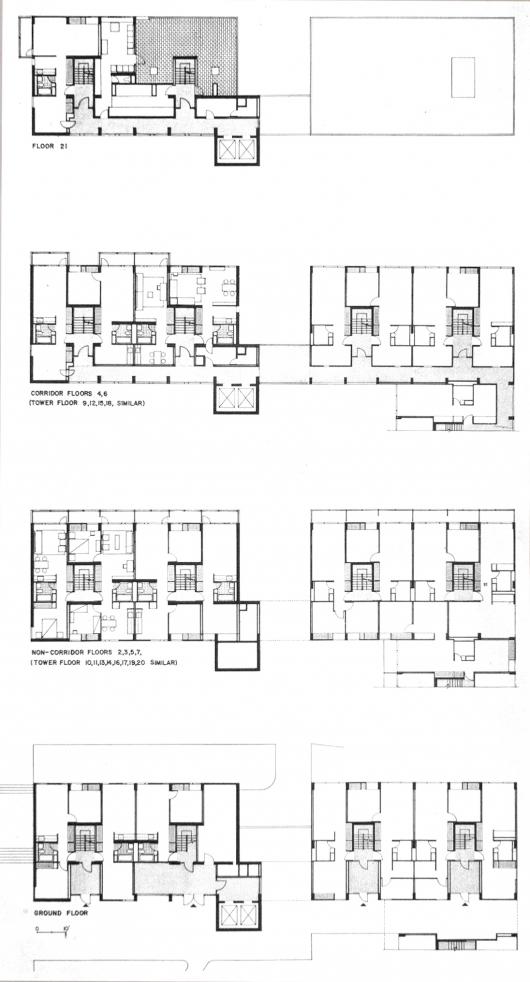 Ad Classics Peabody Terrace Sert Jackson Amp Gourley