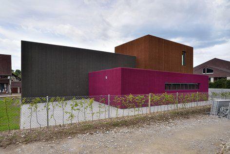 New Weiach Kindergarten Development Weiach 2014 L3p Architekten Architecture Kindergarten School Architecture