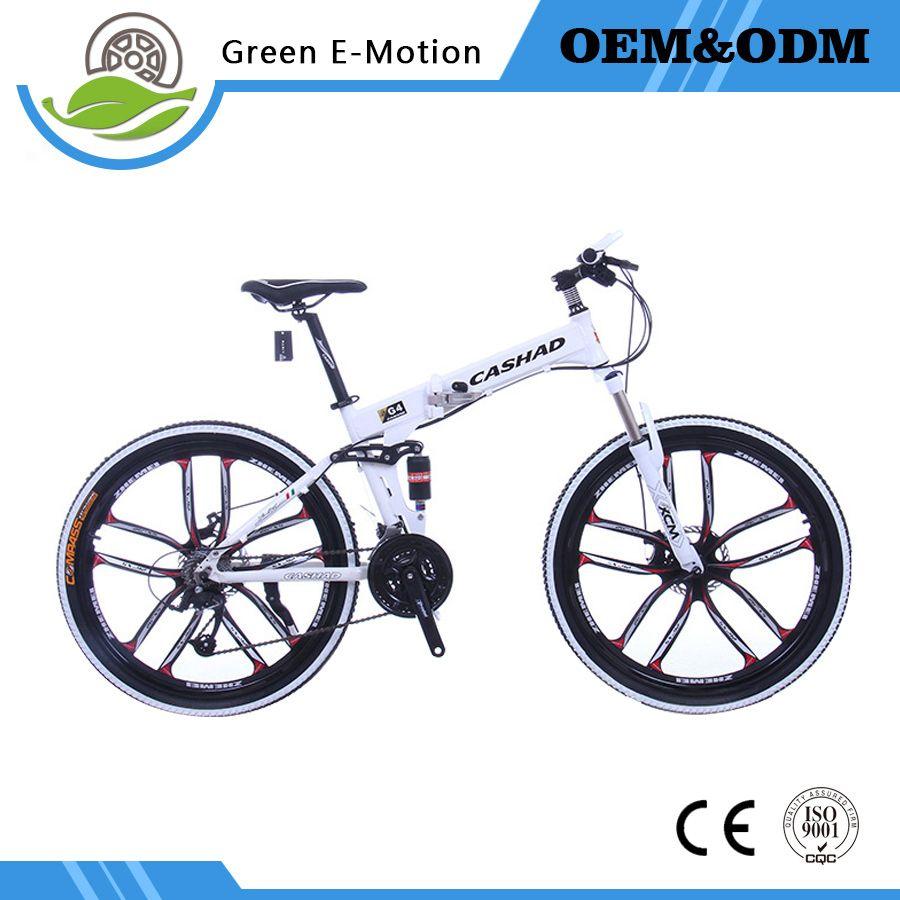26in 21 Speed Double Disc Brake Double Shock Absorption Mountain Bike