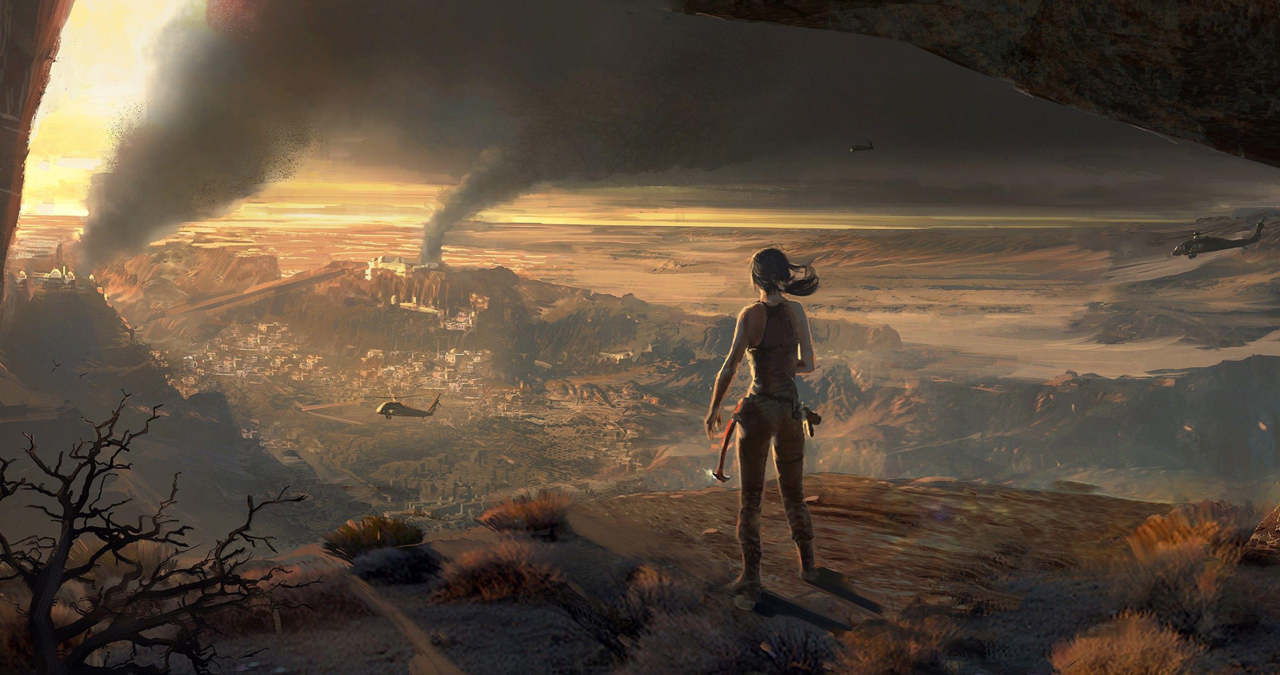 Rise Of The Tomb Raider Lara Croft 4k Ultra Hd Wallpaper Tomb Raider Art Tomb Raider Rise Of The Tomb