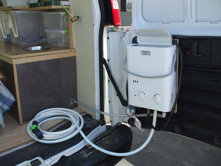 Here S How To Install A Shower In Your Van Van S Layout