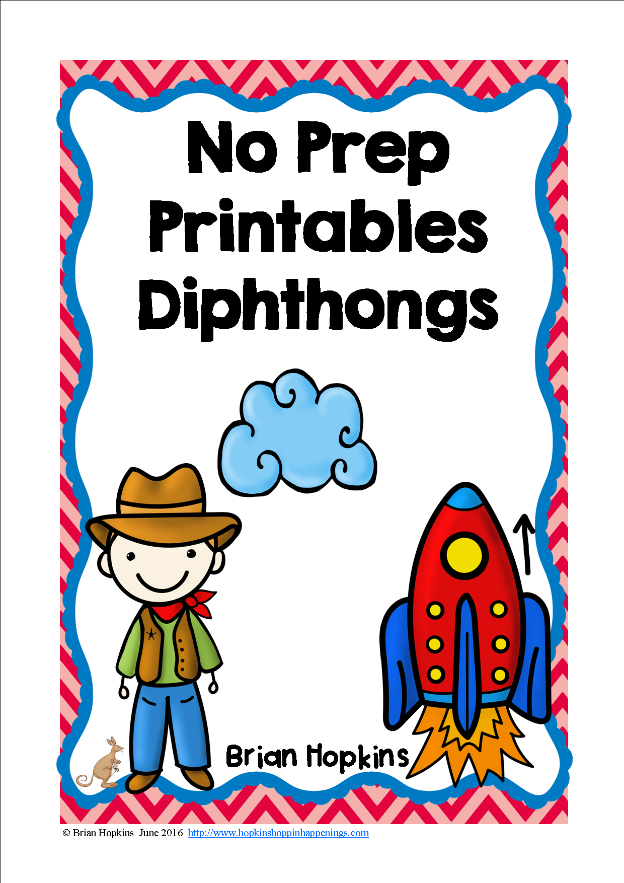 Diphthongs No Prep Printables