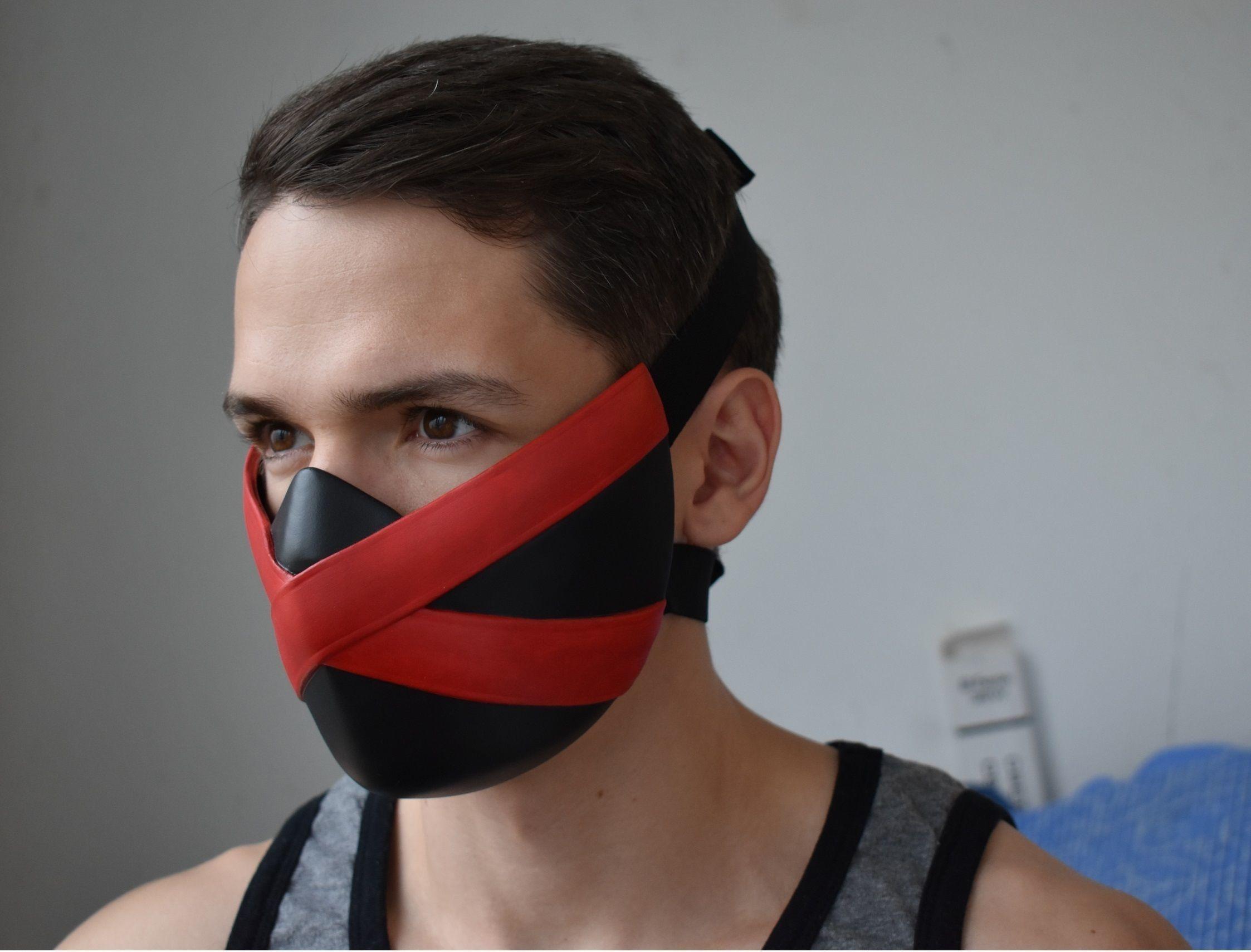 kitana mortal kombat black mask