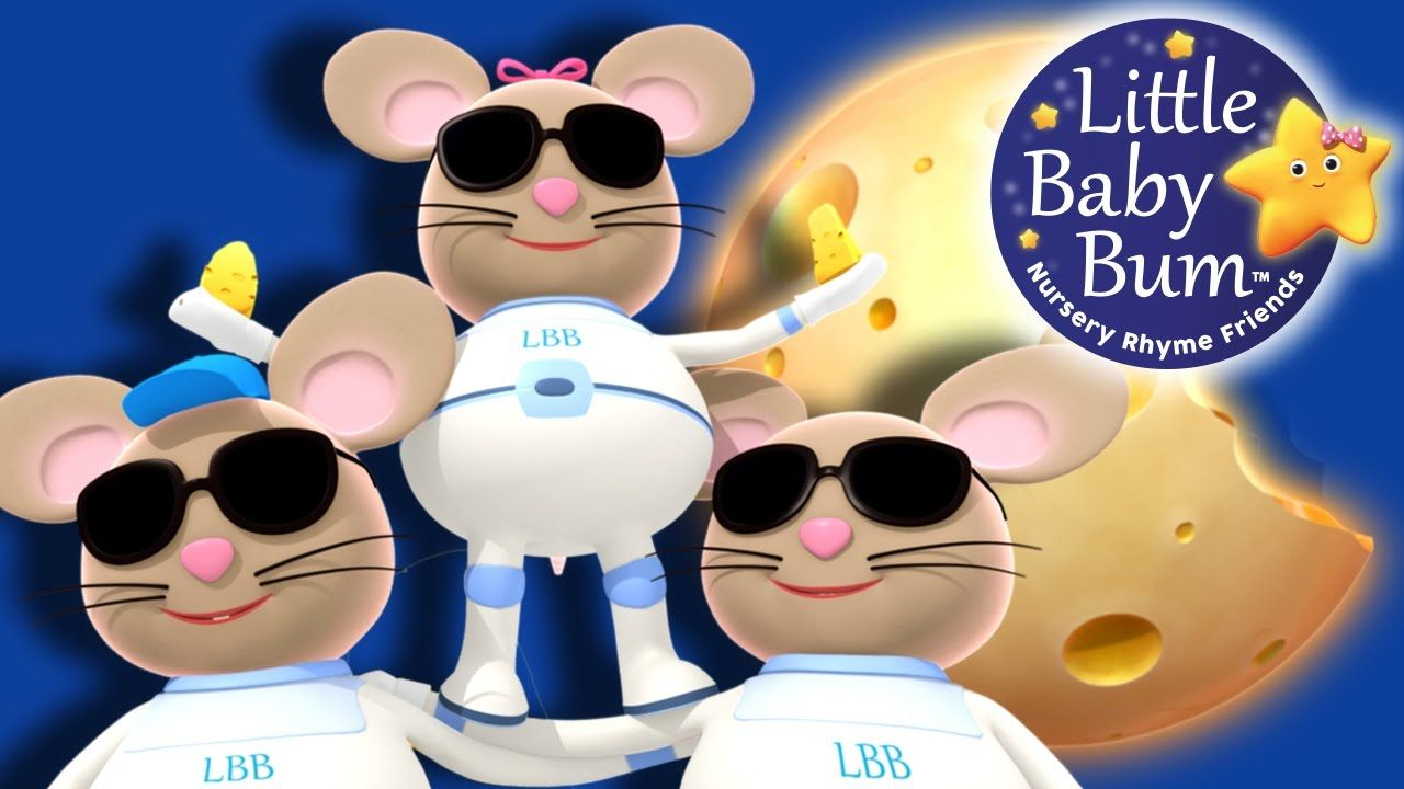 Three Blind Mice Nursery Rhymes Original Version By Littlebabybum Three Blind Mice Nursery Rhymes Nursery