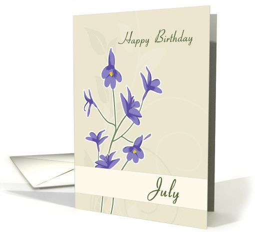 Larkspur july birth flower for birthday card greeting cards larkspur july birth flower for birthday card greetingcarduniversejjbdesigns greetingcard greetingcarduniverse greeting card m4hsunfo