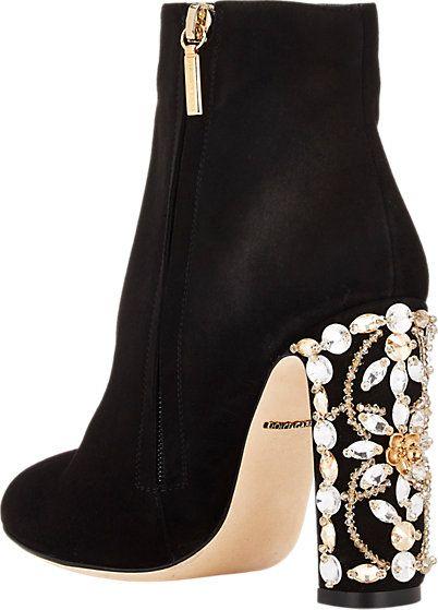 05ecd925097dee Dolce   Gabbana Embellished-Heel Ankle Boots - Ankle Boots - Barneys ...