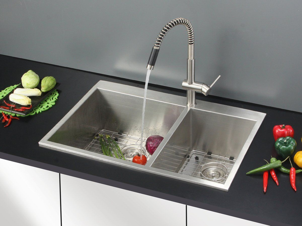 100 Drop In Stainless Steel Kitchen Sink