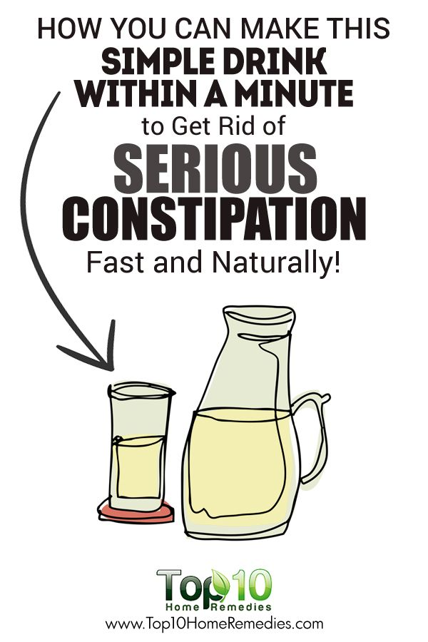 newborns with constipation how to get rid of it