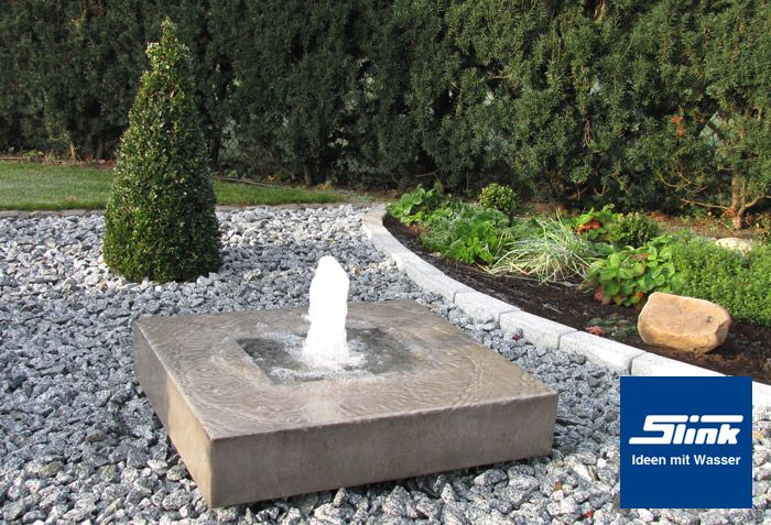 Gartenbrunnen elemento garten gartenbrunnen brunnen for Gartengestaltung mit brunnen