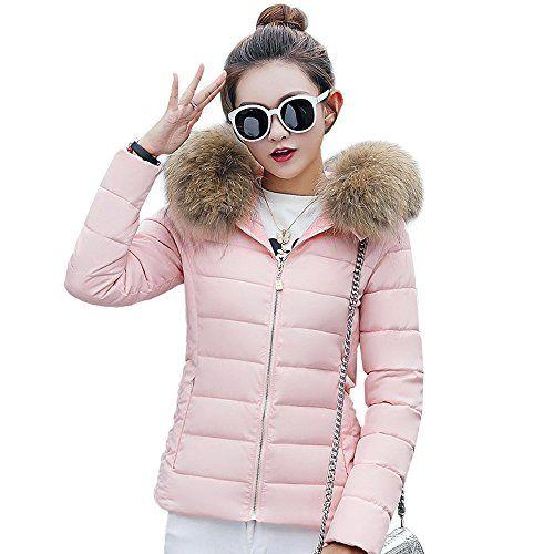Fashion Women/'s Winter Hooded Warm Down Jacket Parka Slim Short Coat Overcoat