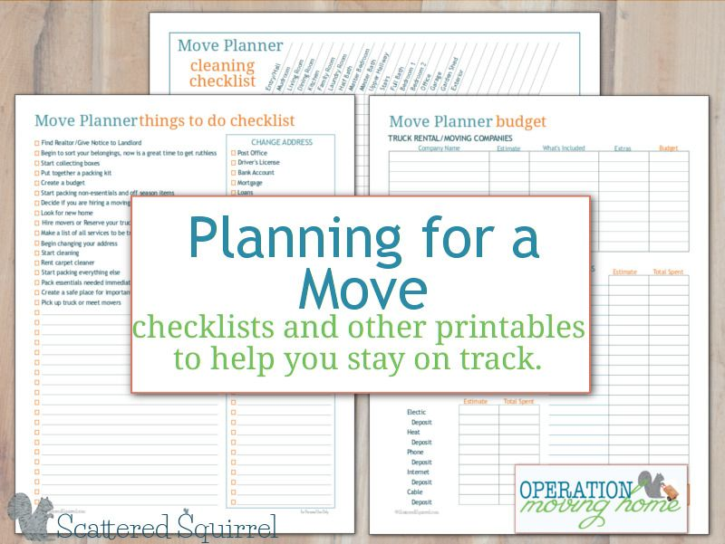 photo regarding Printable Moving Checklist and Planner called Excess Stream Planner Printables in the direction of Support Yourself Live upon Keep track of