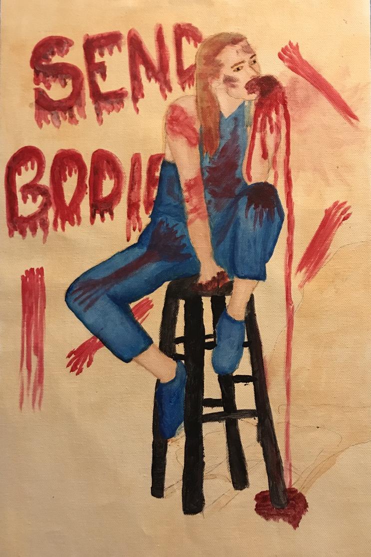 2AM Allyson Garth Acrylic on Canvas 2017