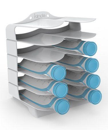 Another great find on #zulily! Keeper™ Breast Milk Storage Bag Holder & Organizer #zulilyfinds