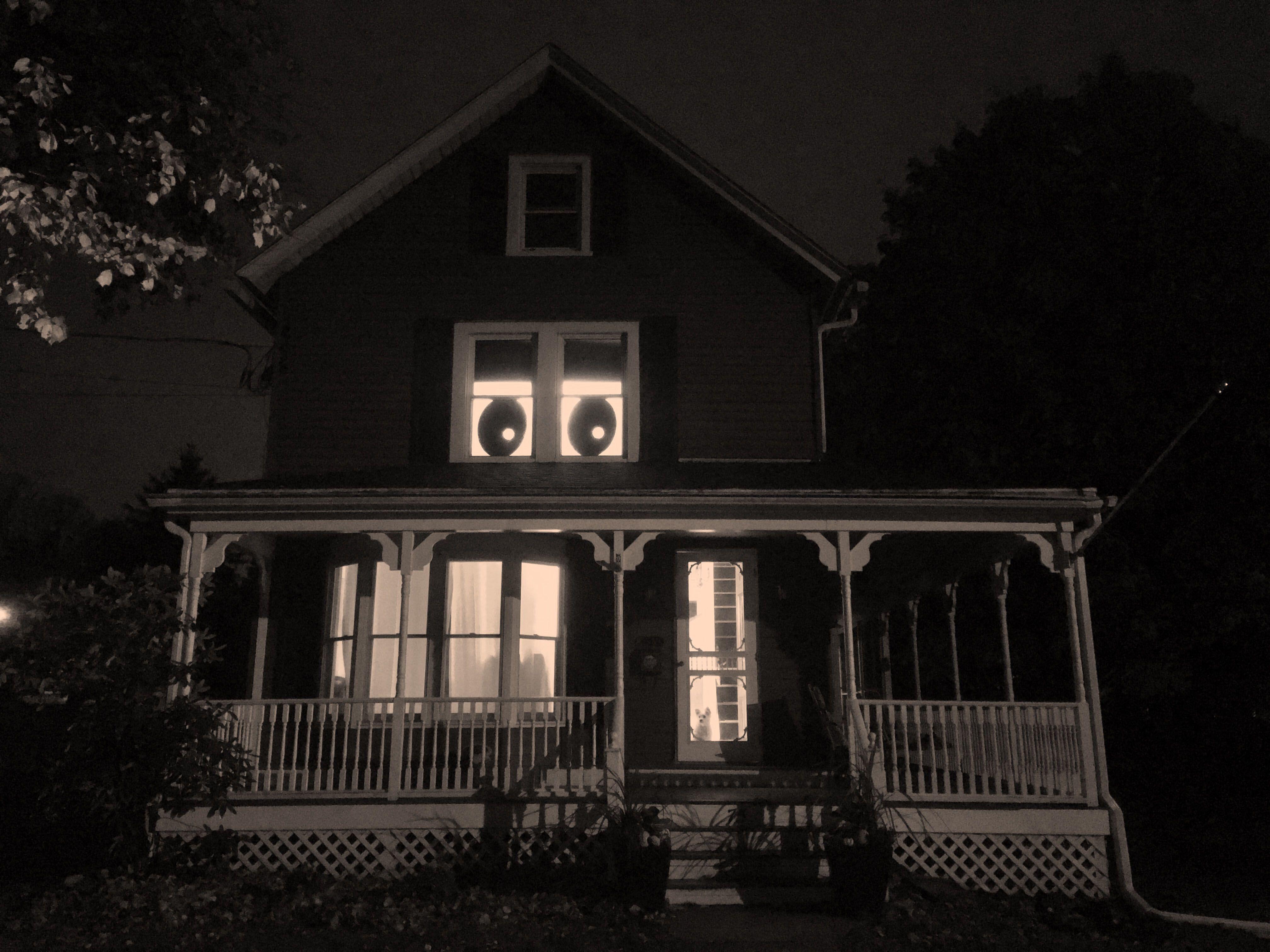 Mischief Night Surveillance Surveillance Night Lamp Post