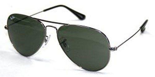 5306215c07cc92 Ray ban RB3025 Aviator Large Metal Sunglasses – W3236 Gunmetal (G-15XLT  Lens) – 55mm image