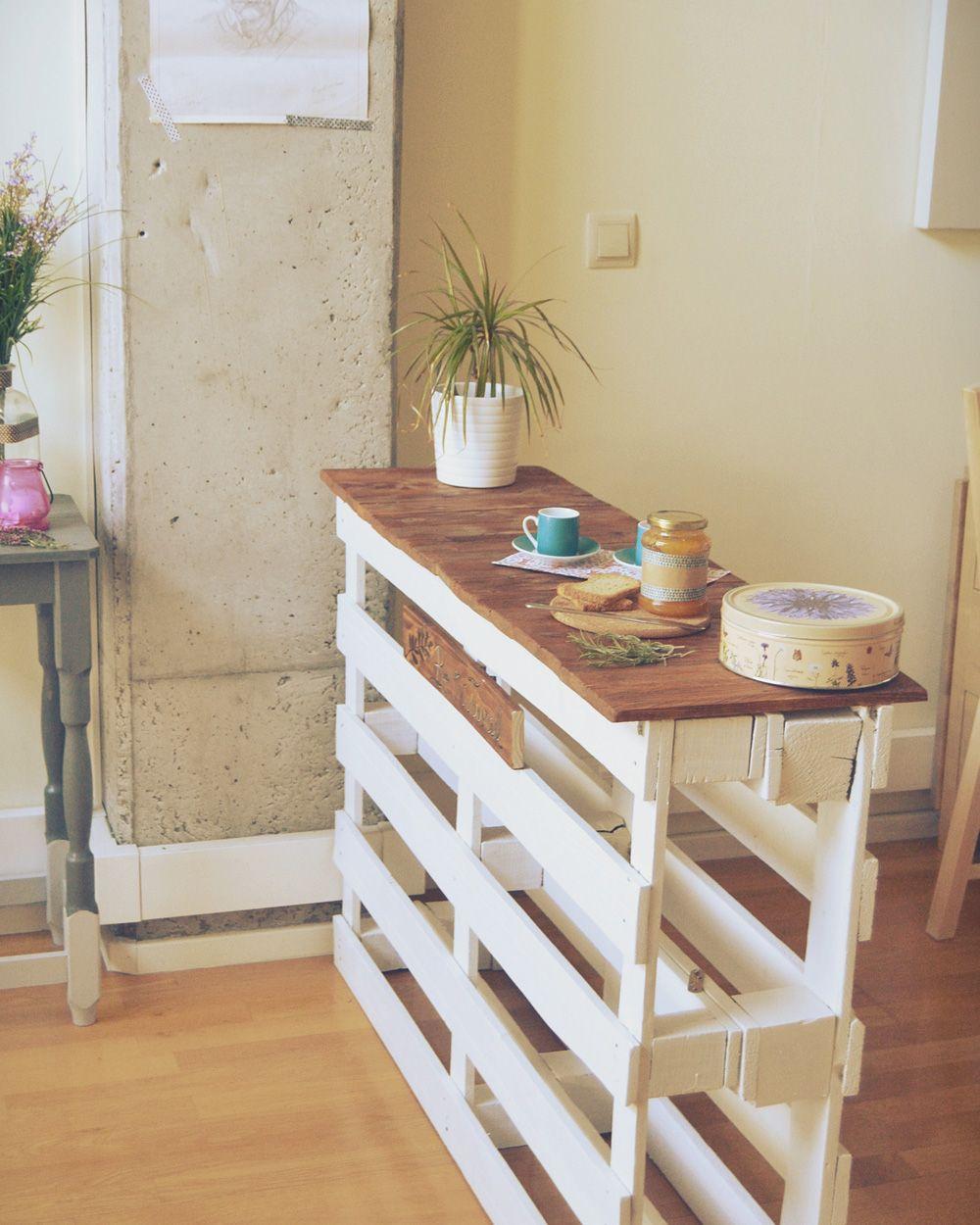 6 tables d 39 appoint diy pour votre cuisine d co pinterest bricolage mobilier de salon et. Black Bedroom Furniture Sets. Home Design Ideas