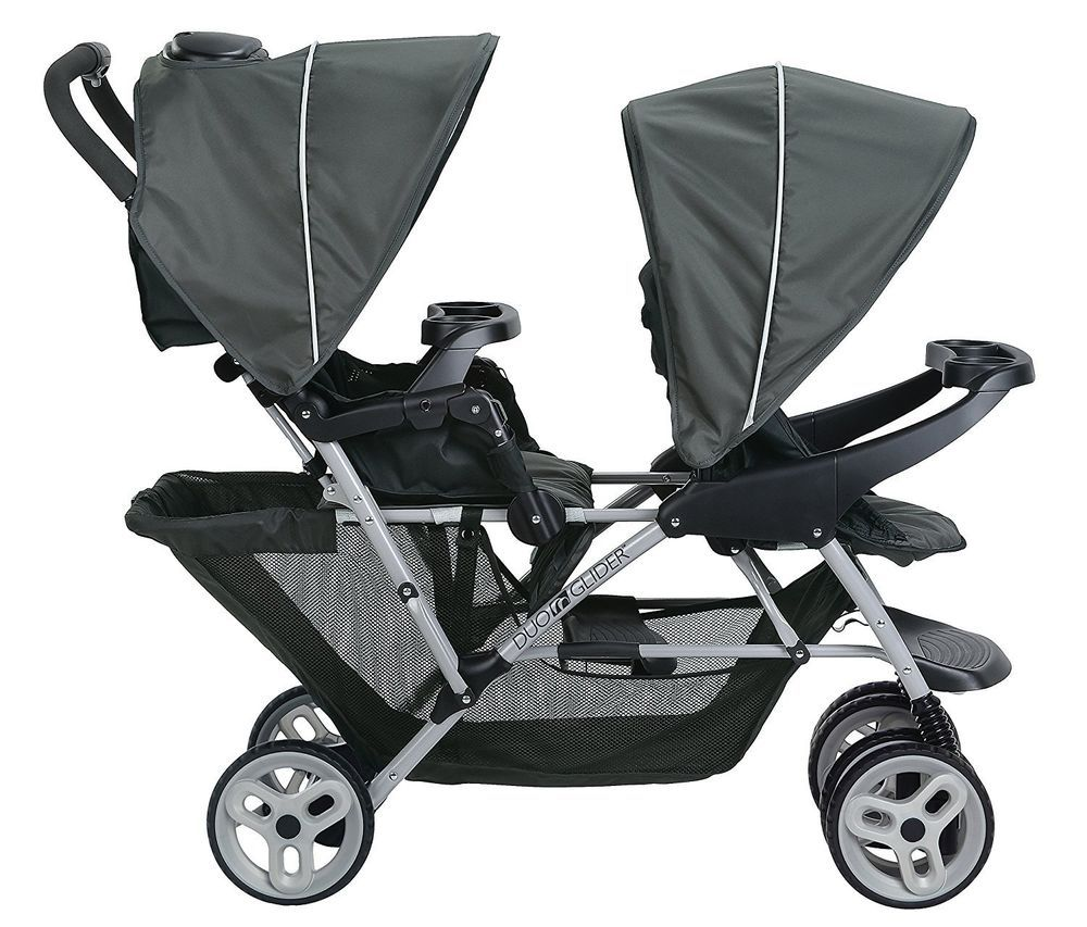 Graco DuoGlider Sterling Standard Double Seat Stroller