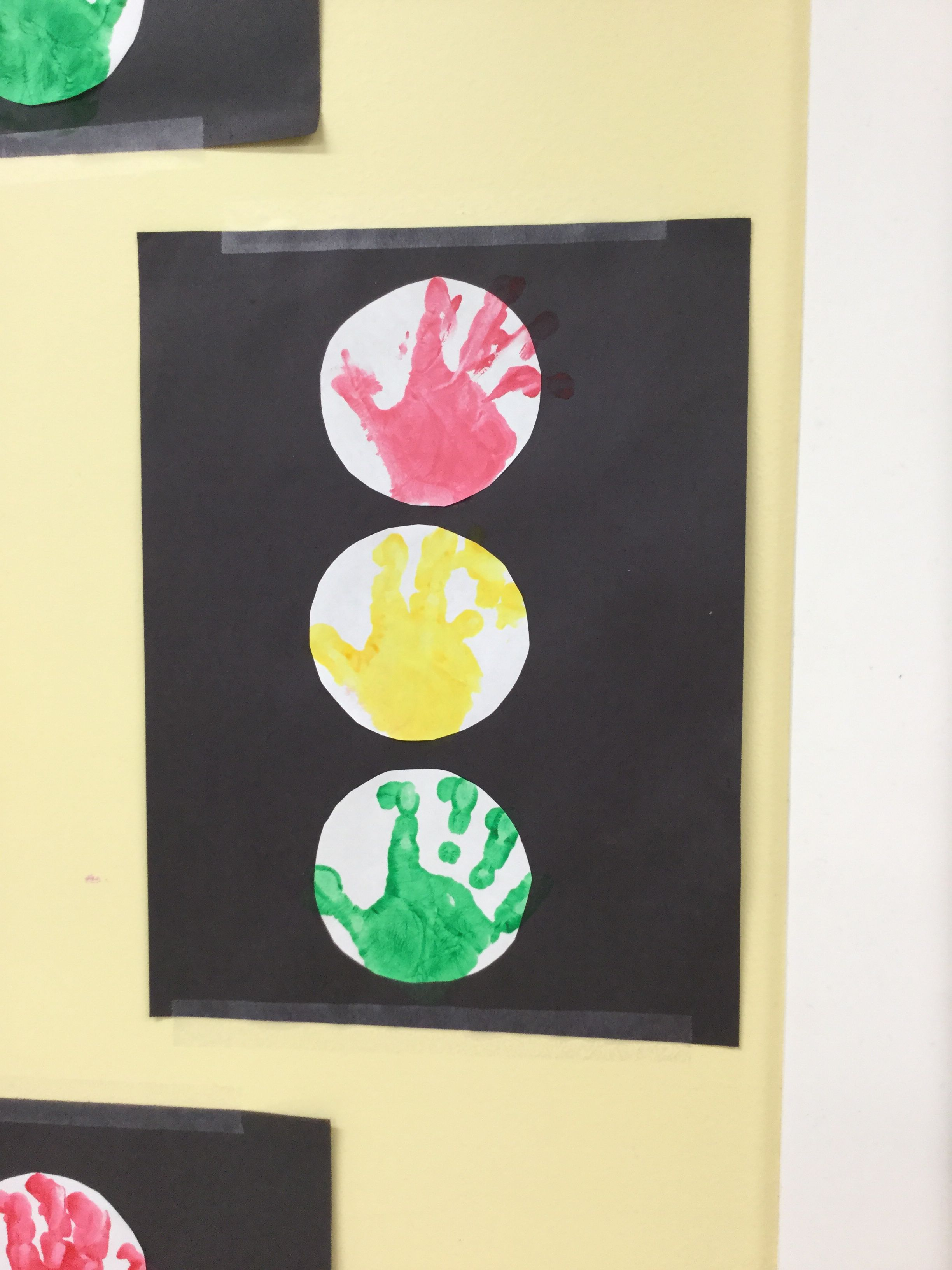 Stop Sign Handprint Art With Images