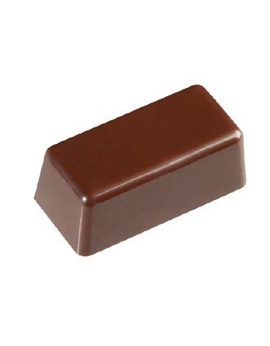 You can decorate the top of this mold any way that you want. Create delicious center filled chocolate candy with this mold. 30 cavities.