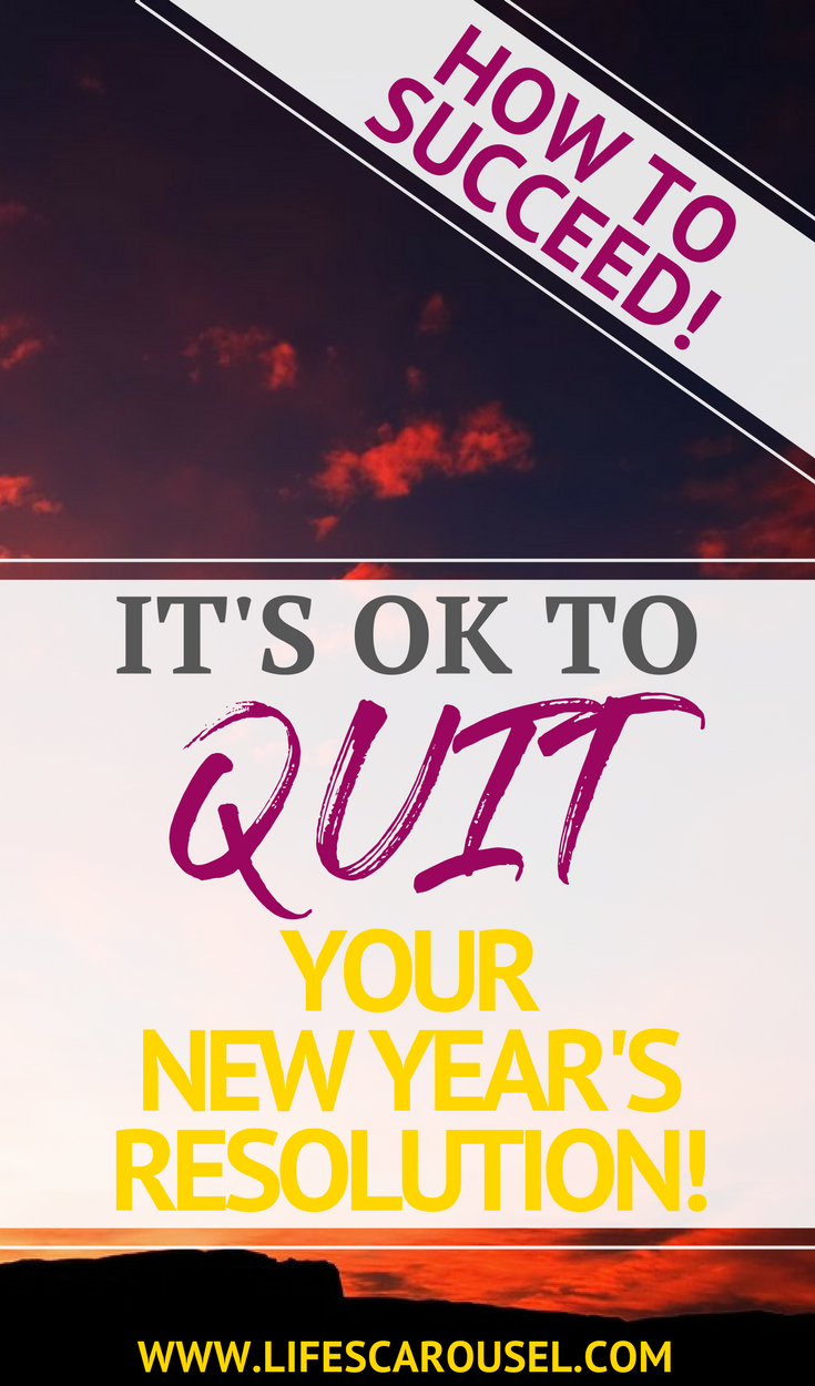 Time to Quit Your 2020 New Year's Resolution Self